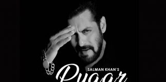 _Using minimal resources, Salman Khan composes a song of love in the fight against Corona!