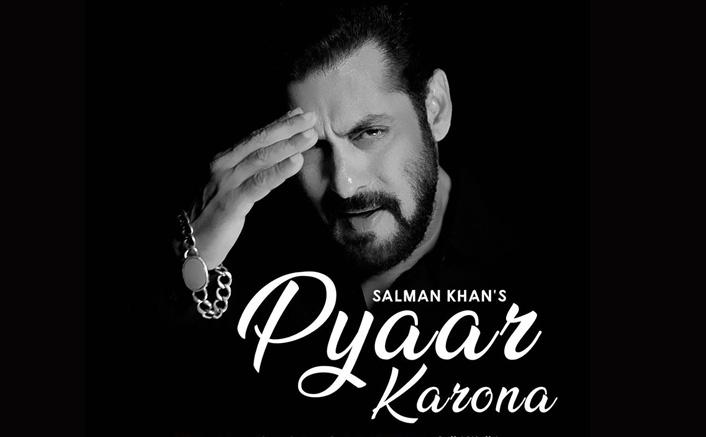 Salman Khan Sings & Raps 'Pyaar Karona' Spreading The Message Of Love During This Global Disaster