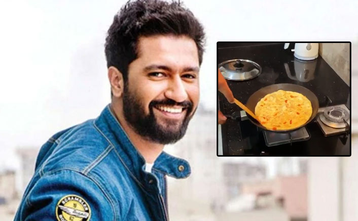 Vicky Kaushal finally becomes pro at omelette flipping