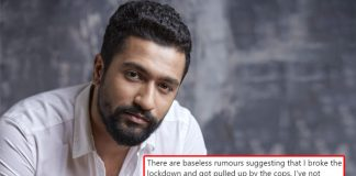 Vicky Kaushal FINALLY Breaks Silence On Breaking Lockdown & Being Pulled Down By The Cops!