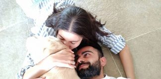 Virat Kohli Shares A Warm Picture With Wife Anushka Sharma And Their Pet