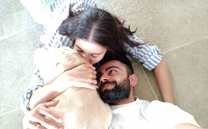 Virat Kohli, Anushka Sharma Enjoy Quality Time With Their Dog & Could They Be Anymore PURRFECT?