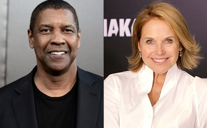 When Denzel Washington Did Something Which Was 'Weirdly Uncalled For' During An Interview With Katie Couric
