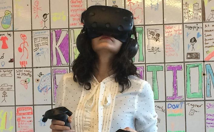 When Taapsee tried VR for the first time
