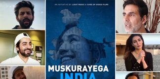 *While we are all home-quarantined, but nothing could deter Bollywood's spirit to bring 'Muskurayega India' helmed by Akshay Kumar and Jackky Bhagnani's Label Jjust Music*