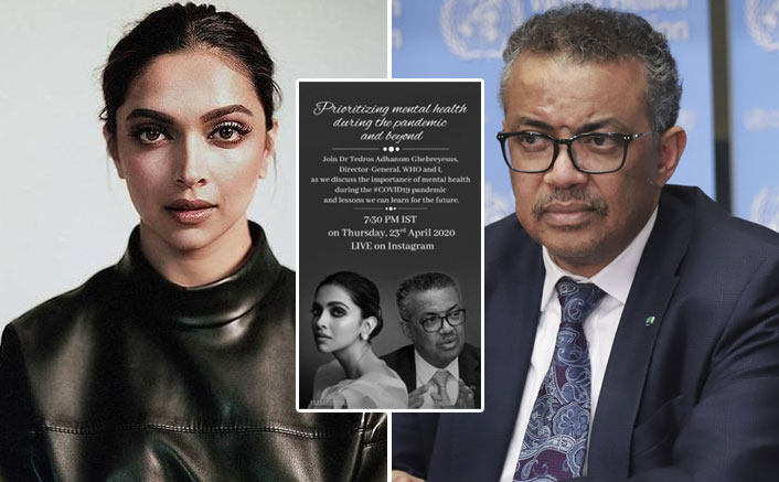 WHOA! Deepika Pakudone To Discuss Mental Health Issues With WHO Head Dr. Tedros Adhanom Ghebreyesus