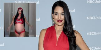 WWE Star Nikki Bella Flaunts Her Baby Bump As She Recreates Her Entrance