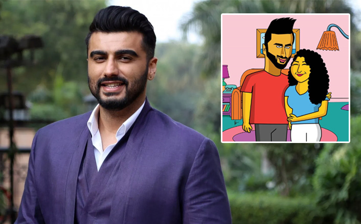 You Can't-Miss Arjun Kapoor And Anshula Kapoor's The Simpsons Avatar