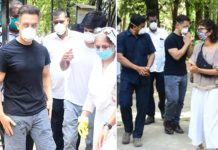 Aamir Khan & Kiran Rao Attend Late Assistant Amos Paul's Funeral