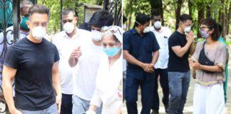Aamir Khan & Kiran Rao Attend Late Assistant Amos Paul's Funeral