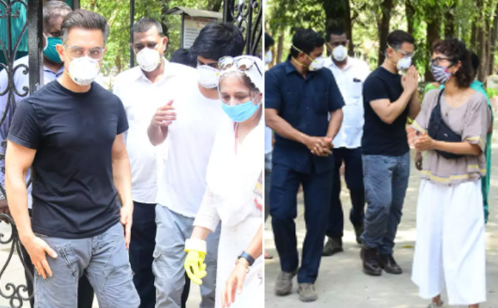 Aamir Khan & Kiran Rao Attend Late Assistant Amos Paul's Funeral - In Pictures!