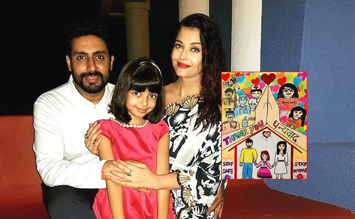 Aaradhya Bachchan thanks Corona Warriors with a drawing