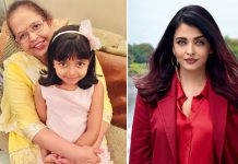 Aishwarya shares heart warming post on mother's birthday