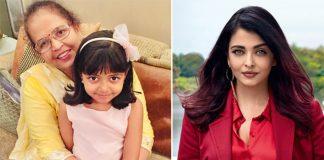Aishwarya shares heart warming post on mother's birthday
