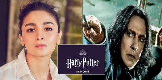 Alia Bhatt narrates and introduces Professor Snape