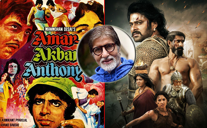 Amar Akbar Anthony Would Be Indian Cinema's BIGGEST Box Office Grosser Today Beating Baahubali 2 Claims Amitabh Bachchan