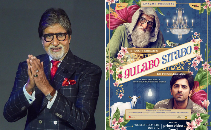 Amitabh Bachchan Opens Up About Gulabo Sitabo Releasing On OTT & His Co-star Ayushmann Khurrana