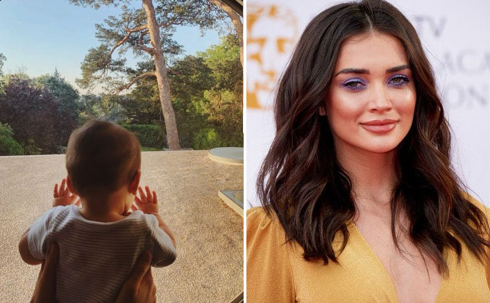 Amy Jackson Shares An Adorable Picture Of Her Son Andreas AKA 'Little Bunny' As He Turns Eight Months Old