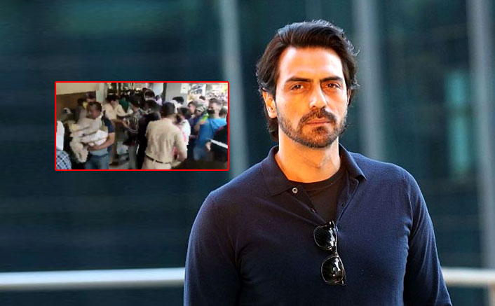 """Arjun Rampal SLAMS People Forming Large Crowds Outside Liquor Stores: """"This Is Absolute Chaos"""""""