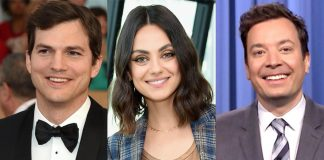 Ashton Kutcher Describing Wife Mila Kunis' Bowel Moments As Her On Jimmy Fallon's Show Is Breaking The Internet