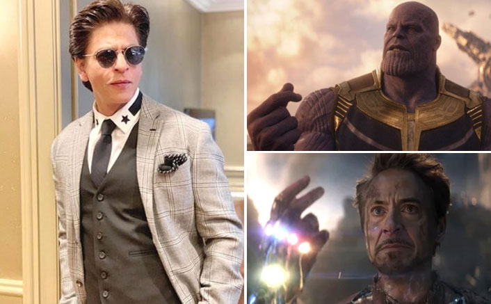 Avengers: Endgame: Not Thanos Or Iron Man, Shah Rukh Khan Snapped His Fingers First; Check Out This Funny Video!