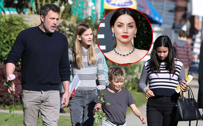 Ben Affleck FINALLY Introduces His Kids To Girlfriend Ana De Armas