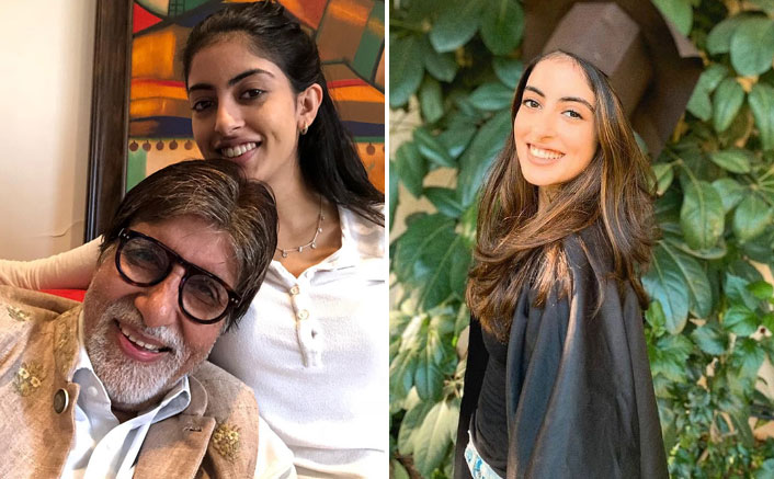Amitabh Bachchan Writes An Emotional Note For Granddaughter Navya Nanda On Her Graduation Day