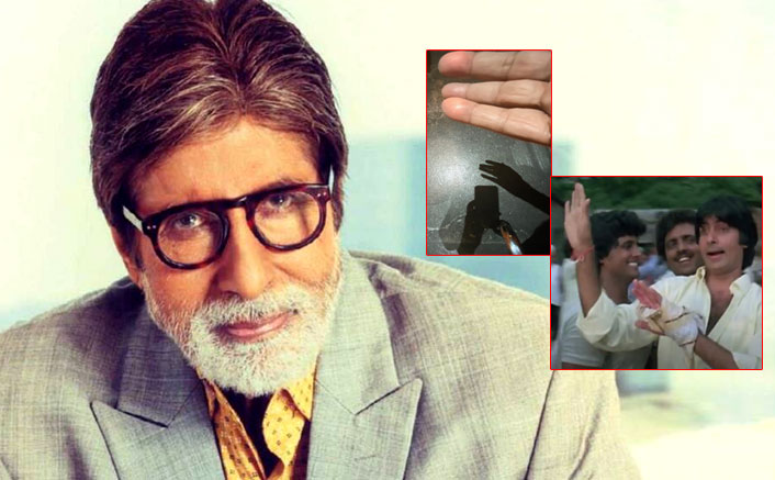 When A Diwali Bomb Exploded In Amitabh Bachchan's Hand & He Still Shot For Films Sharaabi & Inquilaab