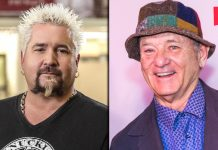 Bill Murray & Guy Fieri To Face Off At 'The Nacho Average Showdown' To Raise Funds For Restuarant Workers Amid Coronavirus Pandemic