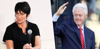 Book Claims Bill Clinton Had S*x With Ghislaine Maxwell On Paedophile Jeffery Epstein's Private Jet