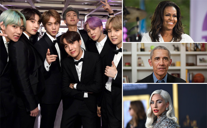 BTS To Join The Likes of Barack Obama, Michelle Obama, Lady Gaga & Others For Expensive Class of 2020!