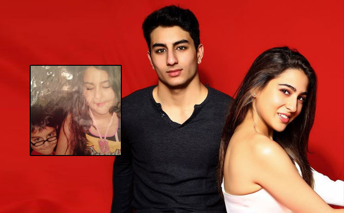 Ibrahim Ali Khan's Showcases His 'Bully Face' With Sara Ali Khan & You Can't Miss It At Any Cost
