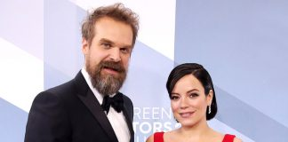 David Harbour wooed Lily Allen with terrible merchandise