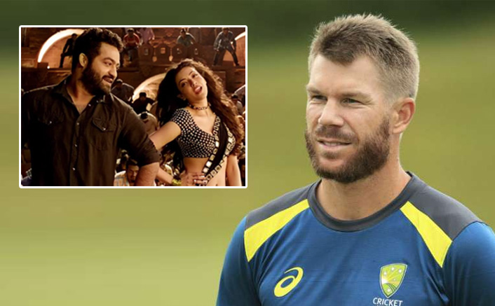 David Warner Grooves To The Beats Of Jr NTR's 'Pakka Local' With Wife Candice, WATCH