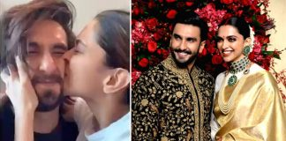 Deepika kisses 'cutie' Ranveer's 'squishable face'