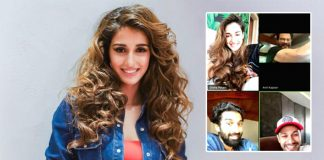 Disha Patani's 'quarantine reunion with my favourite boys'