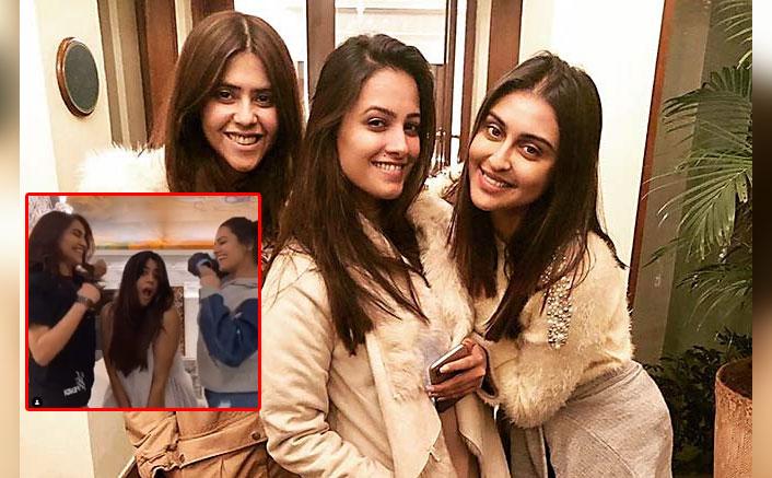 Ekta Kapoor, Krystle D'Souza & Anita Hassanandani's Throwback Video Is All About Girls Having Fun!