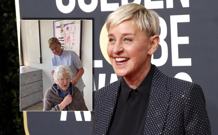 Ellen DeGeneres Gives Special Birthday Gift To Her Mom & The 90-Year-Old Isn't That Impressed!
