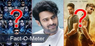 Fact-O-Meter: Prabhas Is The Only Actor With 2 Films In Top 5 Indian Openers! Check Out Where 2.0 & War Lies