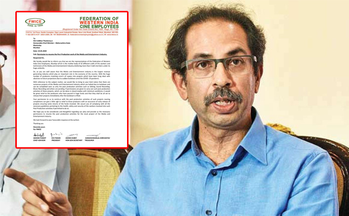 FWICE plea to Maharashtra CM: Let us resume post-production work