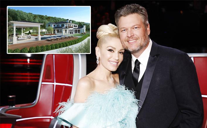 Gwen Stefani & Blake Shelton Buy Whopping $13 Million Worth Luxury Mansion in Encino