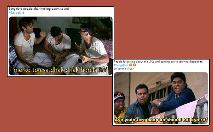 Hilarious Memes On Mysterious Loud Sound In Bengaluru Goes Viral As Netizens Showcase Their Creative Yet Funny Sides Online Amid Lockdown