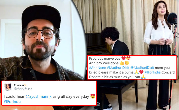 I For India: Ayushmann Khurrana, Madhuri Dixit & Her Son Arin Become Twitter Favourites With Their Performances: See Tweets