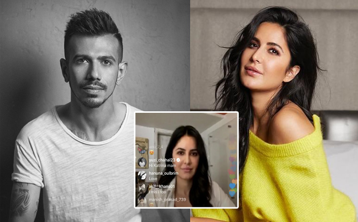 Indian Spinner Yuzvendra Chahal Crashes His Favourite Katrina Kaif's Instagram Live Session!