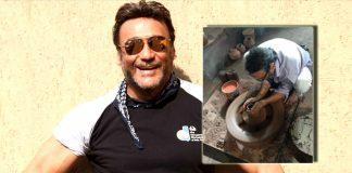 Jackie Shroff tries his hand at pottery