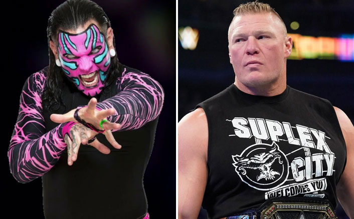 """Jeff Hardy Desires Of The Last Match With Brock Lesnar: """"Would Love To Get My A** Kicked"""""""