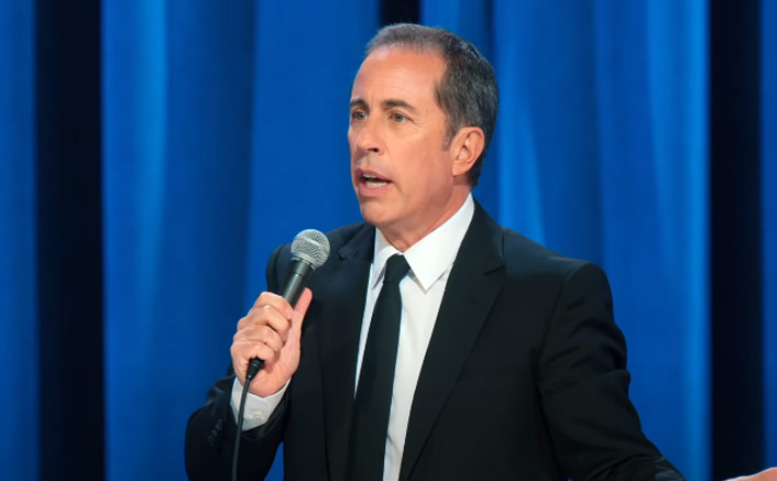 Jerry Seinfeld On Netflix special '23 Hours to Kill: I Feel More Comfortable On Stage Than Anywhere Else