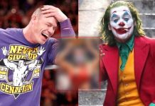 John Cena Does It Again! Photoshops Joaquin Phoenix's Joker Face & Pastes It On The Head Of A Woman Wrestler
