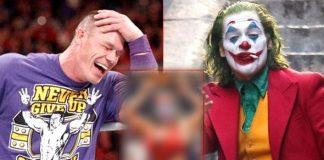John Cena Does It Again! Photoshops Joaquin Phoenix's Joker Face & Pastes It On The Head Of A Woman Wrestler