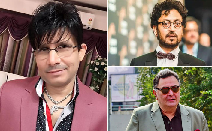 Kamaal R Khan AKA KRK In Legal Trouble! FIR Filed Over Derogatory Comments On Rishi Kapoor & Irrfan Khan's Deaths